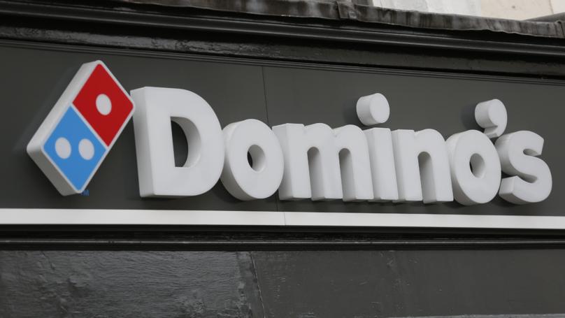 Domino发起了一个披萨和大蒜面包皮