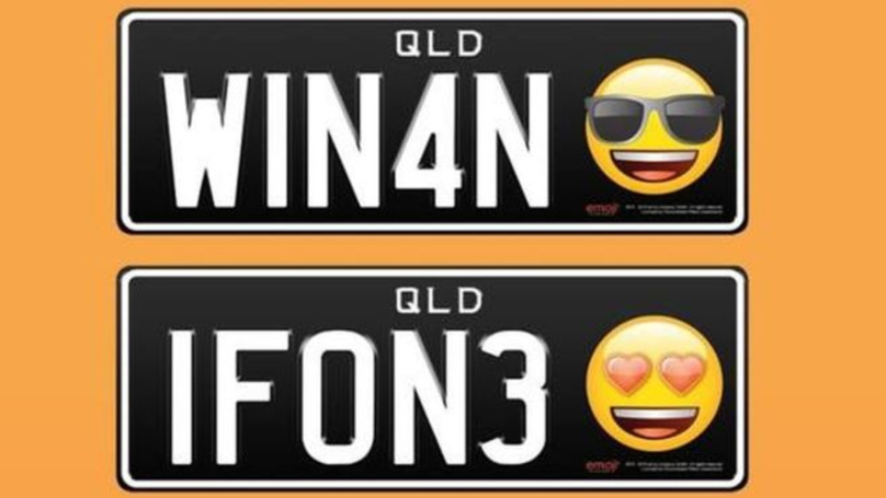 Queensland Drivers Can Now Get Numberplates With Emojis On Them