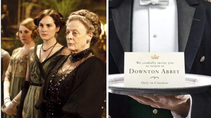 Dame Maggie Smith Has Been Confirmed For The Downton Abbey Film