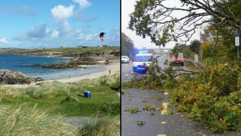 Storm Ali: Woman Dies After Being Blown Off Cliff Inside Caravan