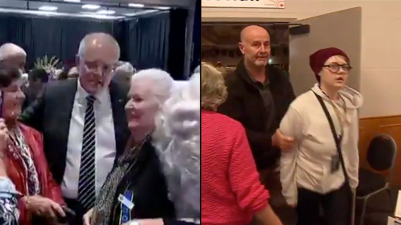 Someone Just Tried To Egg Prime Minister Scott Morrison