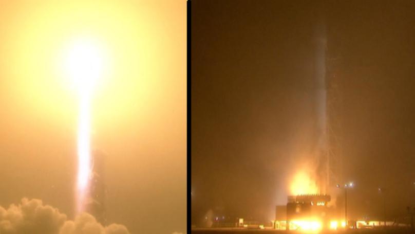 NASA Sends Spacecraft To Mars