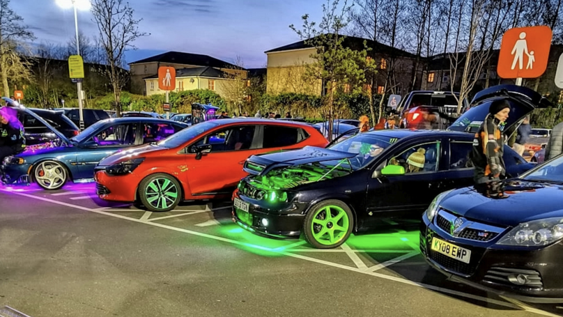 Boy Racers Slapped With £13,000 Fine For Night Time Supermarket Meet-Up