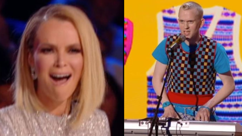 'Britain's Got Talent' Comedian Takes The P**s Out Of Amanda Holden, And Viewers Love It