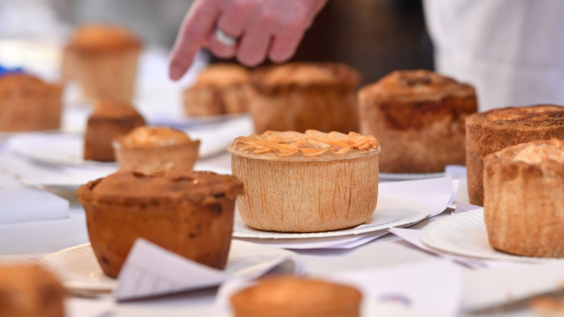 ​Vegan Pie Wins 'Supreme Champion' At British Pie Awards