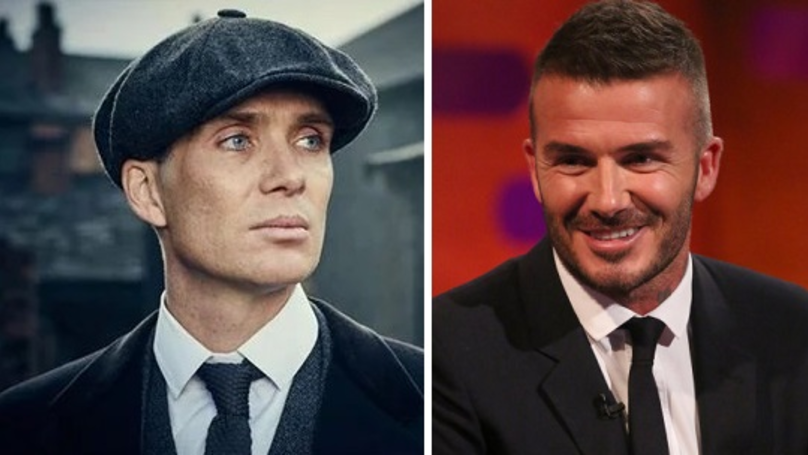 David Beckham Teams Up With 'Peaky Blinders' For Clothing Range