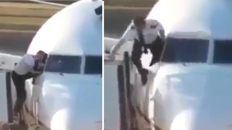 Pilot Caught Climbing Through A Cockpit Window At Heathrow Airport