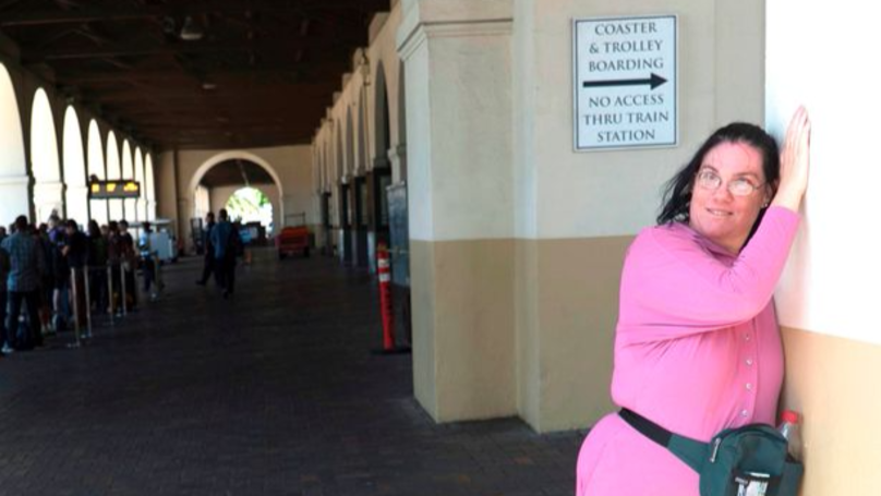 Woman Has Married Love Of Her Life... And It's A Train Station