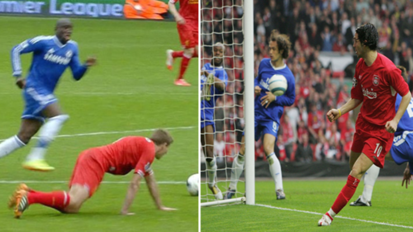 Luis Garcia Expertly Responds After Chelsea Post Video Of Steven Gerrard's Slip
