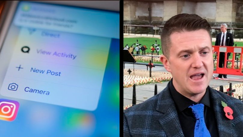 Tommy Robinson Accidentally Posts Argument With His Wife On His Instagram