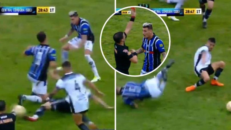 Almagro Vs Atletico Central Cordoba Produced 45 Of The Maddest Seconds Of Football Ever