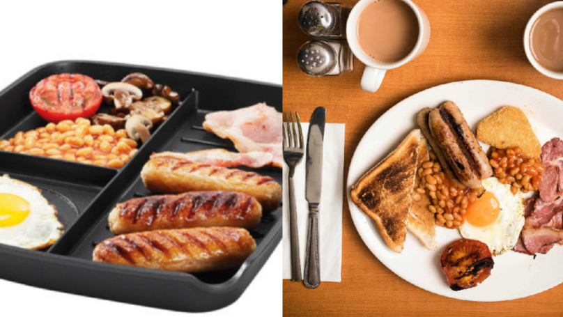 Lidl's £12.99 Multi-Section Frying Pan's Perfect For Cooking A Full English Breakfast
