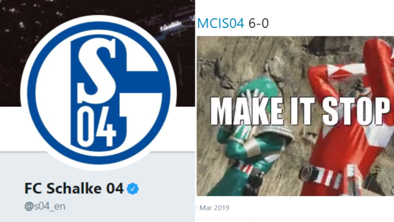 Schalke's Twitter Account Stole The Show Last Night Despite Embarrassing 7-0 Defeat