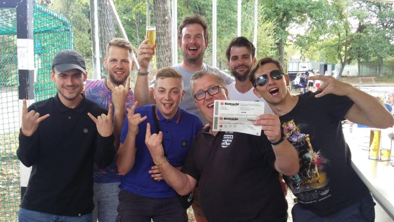 How A Group Of English Football Fans Who Got Very Lost Became International Celebrities