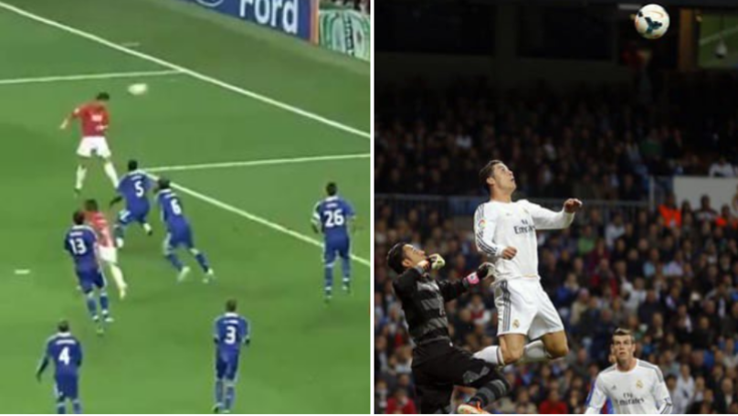 BT Sport's Compilation Proves Cristiano Ronaldo Is The Best Header Of The Ball
