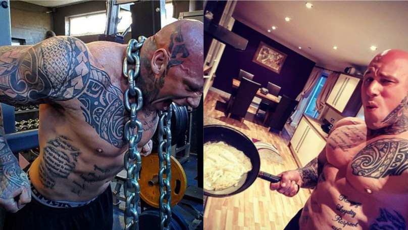 'The Nightmare' Martyn Ford's Incredible 6,500 Calorie Daily Diet And Training Regime