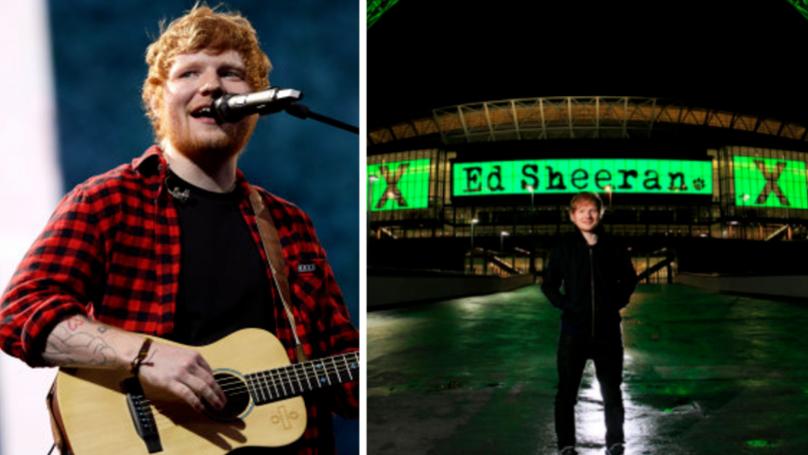 Ed Sheeran Set To Announce Stadium Tour Tomorrow