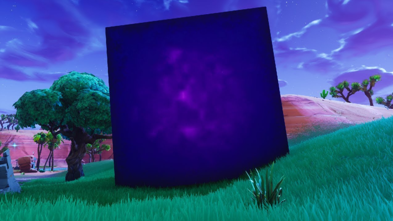 ​Fortnite V5.30 Update, What's Inside The Mysterious Purple Cube