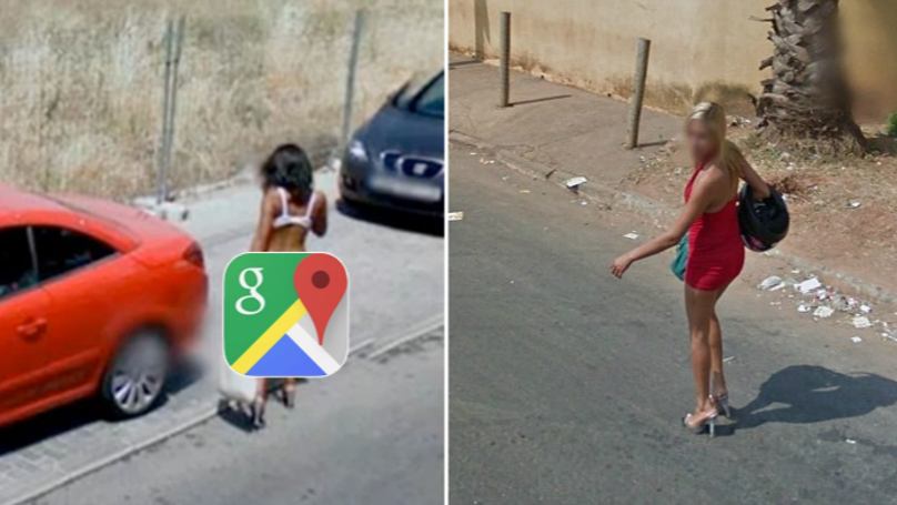 Caught On Google Maps: Unlucky Prostitutes Caught Plying Their Trade On Camera