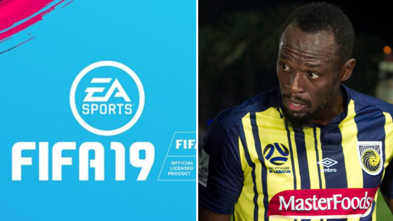 bc8ef371c8884 Usain Bolt's FIFA 19 Card Has Been Leaked - SPORTbible