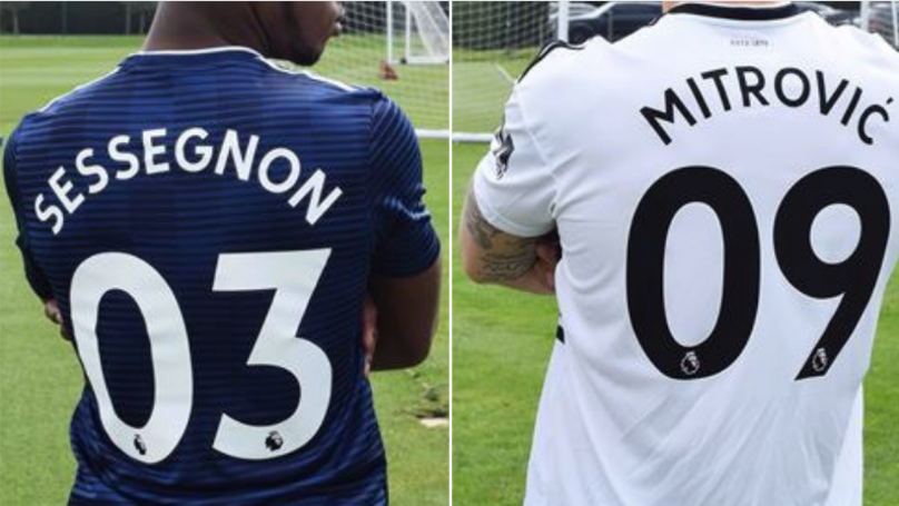 Fulham 'To Become First Side In Premier League History To Adopt Double-Digits On Every Shirt'