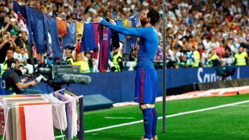 Messi's El Clasico Celebration Inspires Tons Of New Memes | SPORTbible