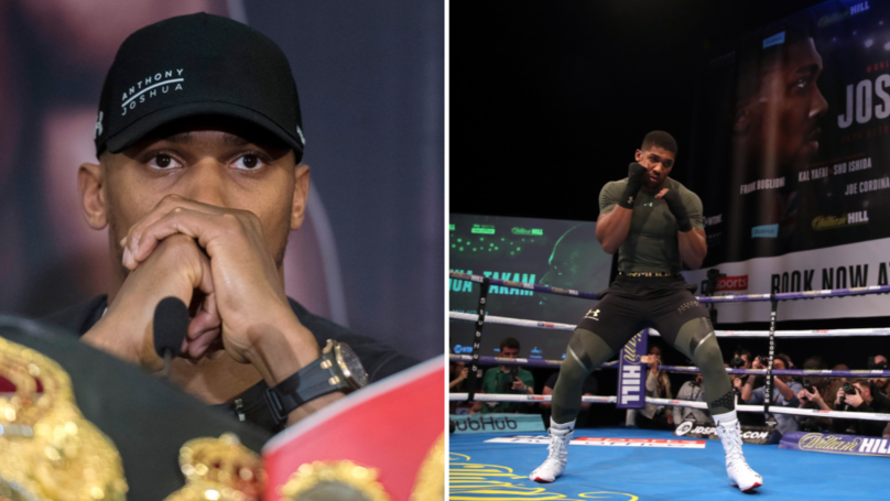 Anthony Joshua Faces Anger After Quotes Comparing His Niece And Son Resurface