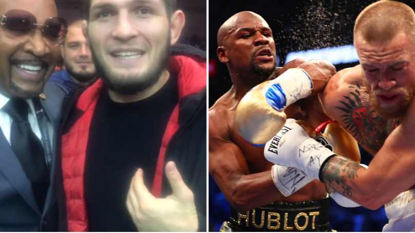 Khabib Challenges Floyd Mayweather To A Boxing Match