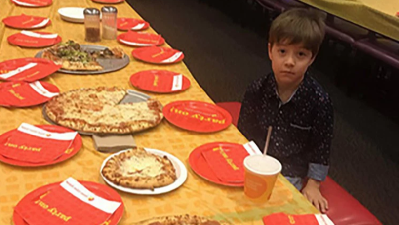 Boy, 6, Eats Alone After None Of His Friends Turn Up To His Birthday Party
