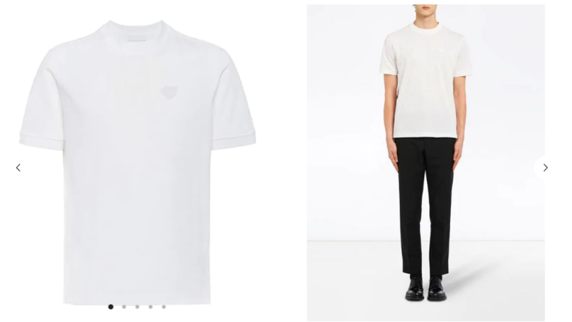 d433289f8 Shoppers Outraged At Website Selling Plain White Prada T-Shirt For £270