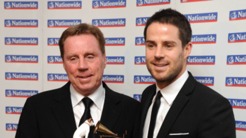 ​Jamie Redknapp Celebrates His Dad's 'I'm A Celebrity' Win