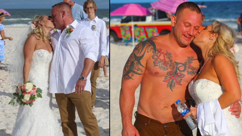 Groom Stopped Wedding Photographs To Save Teen From Drowning In Sea