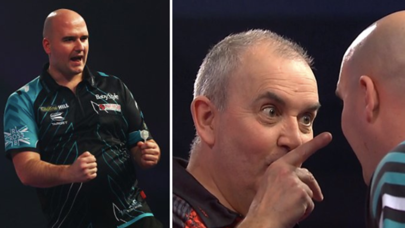 Rob Cross Wins PDC World Championship Final Against Phil Taylor