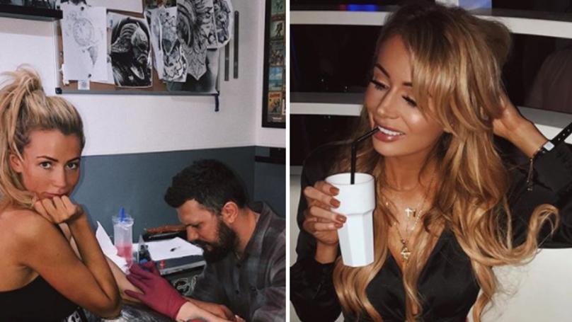 Olivia Attwood Gets Tattoo Dedicated To Her 'Boyfriend' Bradley Dack