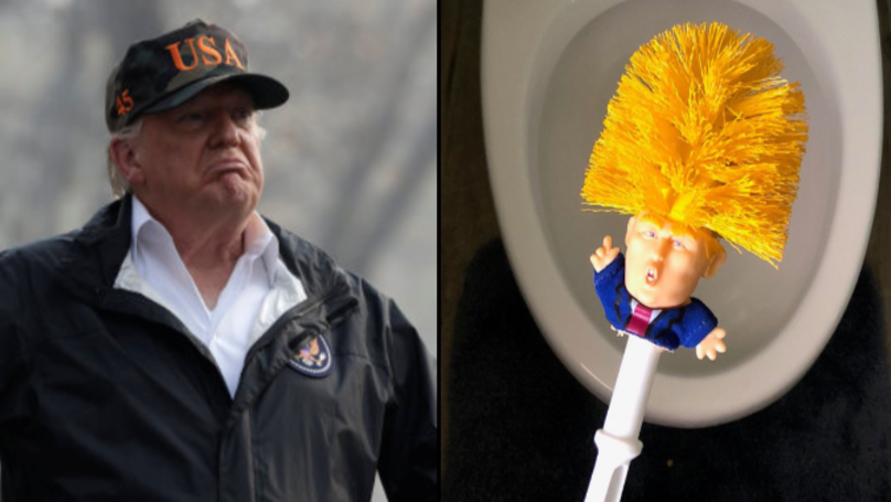 Someone Has Started Selling Donald Trump Toilet Brushes