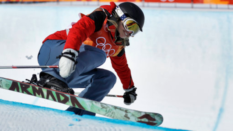 Meet The Olympic Halfpipe Skier Who Doesn't Do Tricks