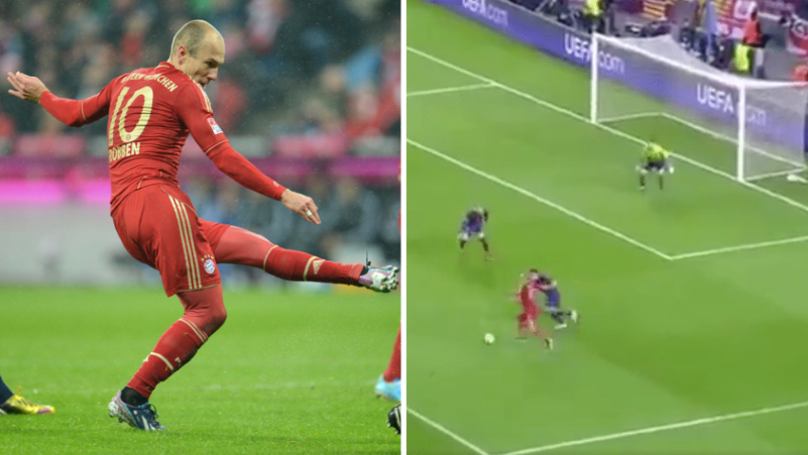 The Compilation Of Arjen Robben Scoring The Exact Same Goal Over And Over Again