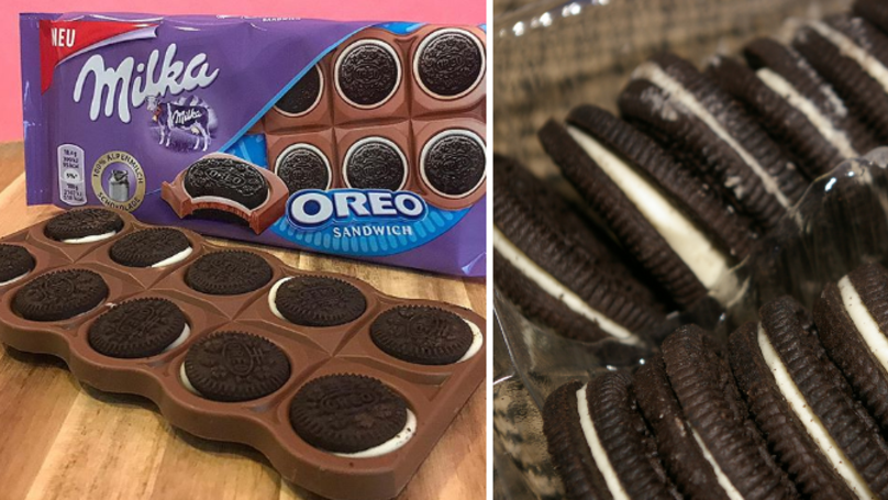 Milka Oreo Sandwich Bars Are A Thing And They Sound Pretty Yummy