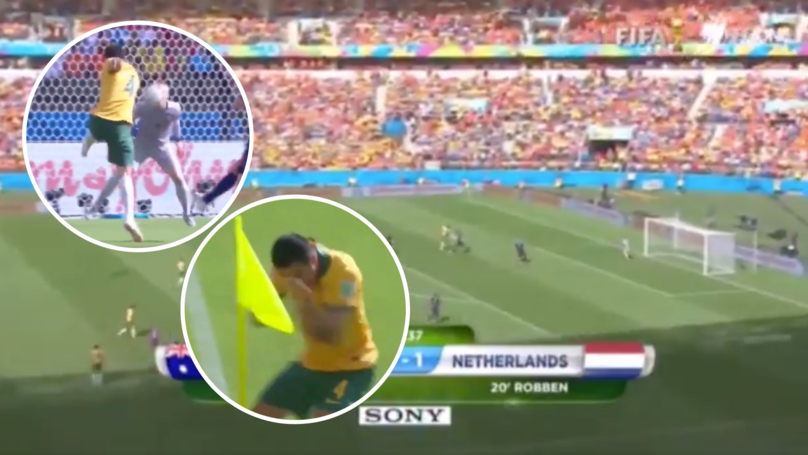 Five Years Ago Today, Tim Cahill Scored One Of The Best Goals In World Cup History