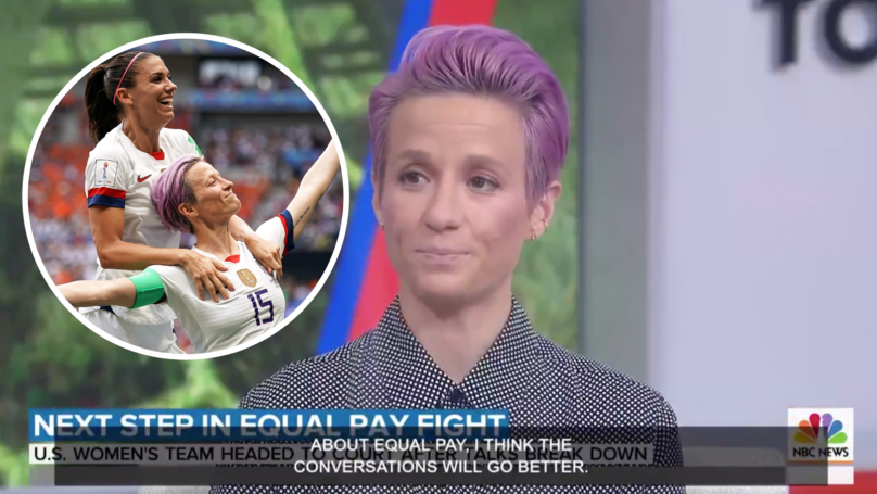 Megan Rapinoe Blasts US Soccer By Saying Talks 'Must Begin With Equal Pay'