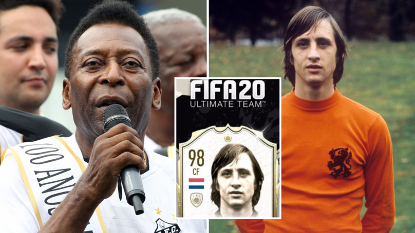 FIFA 20 Petition With Almost 30,000 Signatures Demands Cruyff Be Highest-Rated Player Alongside Pele