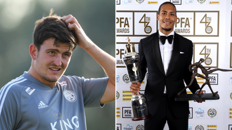 "Maguire ""Similar To Van Dijk"" And Would Go To ""Another Level"" If He Moved To Manchester United"