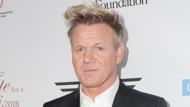 Gordon Ramsay Misses His Son And Wears His Underpants