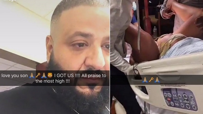 DJ Khaled Snapchatted The Birth Of His Son Because Hes