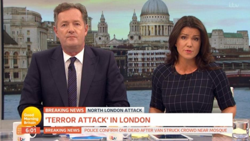 Piers Morgan Has A Full Meltdown Over A Broken Earpiece... As You Do