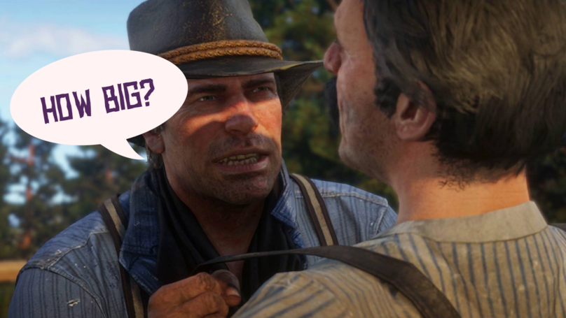 Red Dead Redemption 2 Requires 105GB Install, Online Player Numbers Confirmed