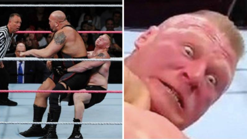 The Big Show 'Exploded With Diarrhea' All Over Brock Lesnar During A Match