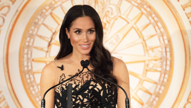 Meghan Markle Just Wore The Most Amazing Ballgown On The Royal Tour