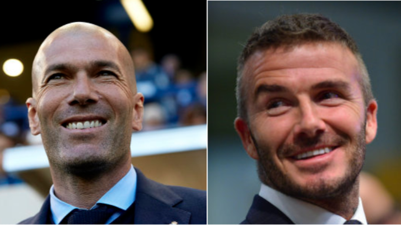 Zinedine Zidane Reportedly Holds Talks With David Beckham's Inter Miami
