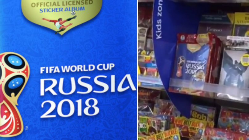 The 2018 FIFA World Cup Sticker Book Is On Sale NOW!